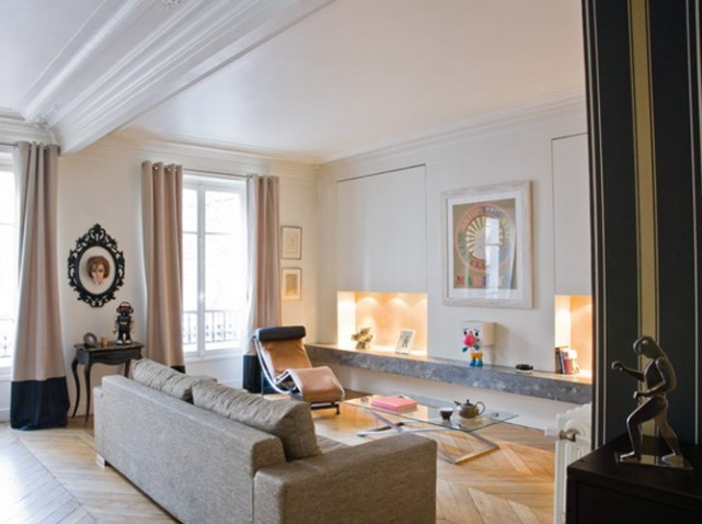 D coration interieur appartement haussmannien - Decoration interieur appartement 2 pieces ...