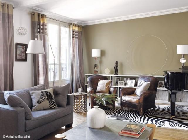 D coration living appartement for Decoration salon de the chicha