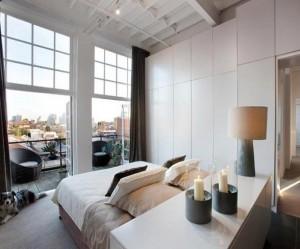 décoration loft chambre