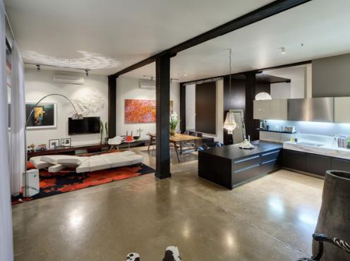 d coration loft interieur. Black Bedroom Furniture Sets. Home Design Ideas