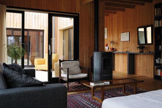Great Excellent Dcoration Maison Bois With Deco Salon