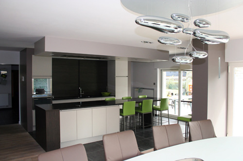 D coration maison moderne for Jolie maison moderne