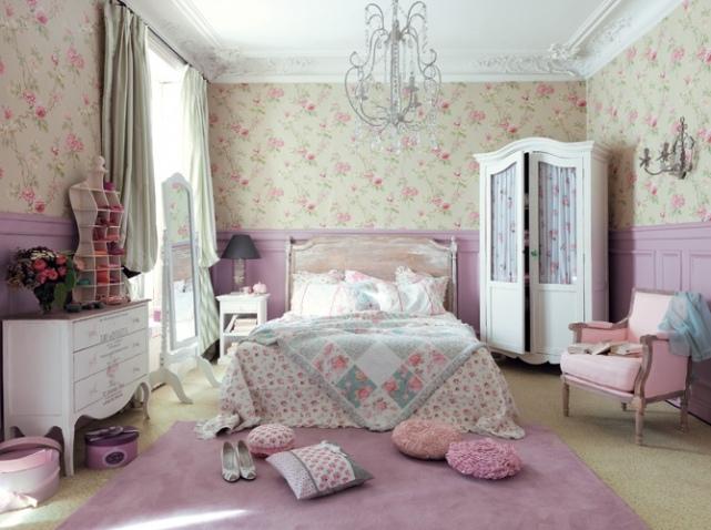 Deco chambre romantique pas cher for Decoration maison romantique