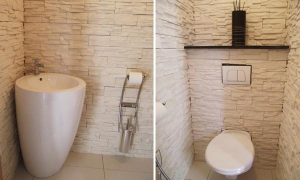 aménagement décoration maison wc .