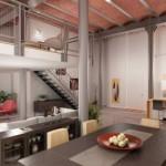 décoration of loft