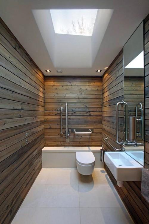 photo dcoration salle de bain bois - Salle De Bains Bois