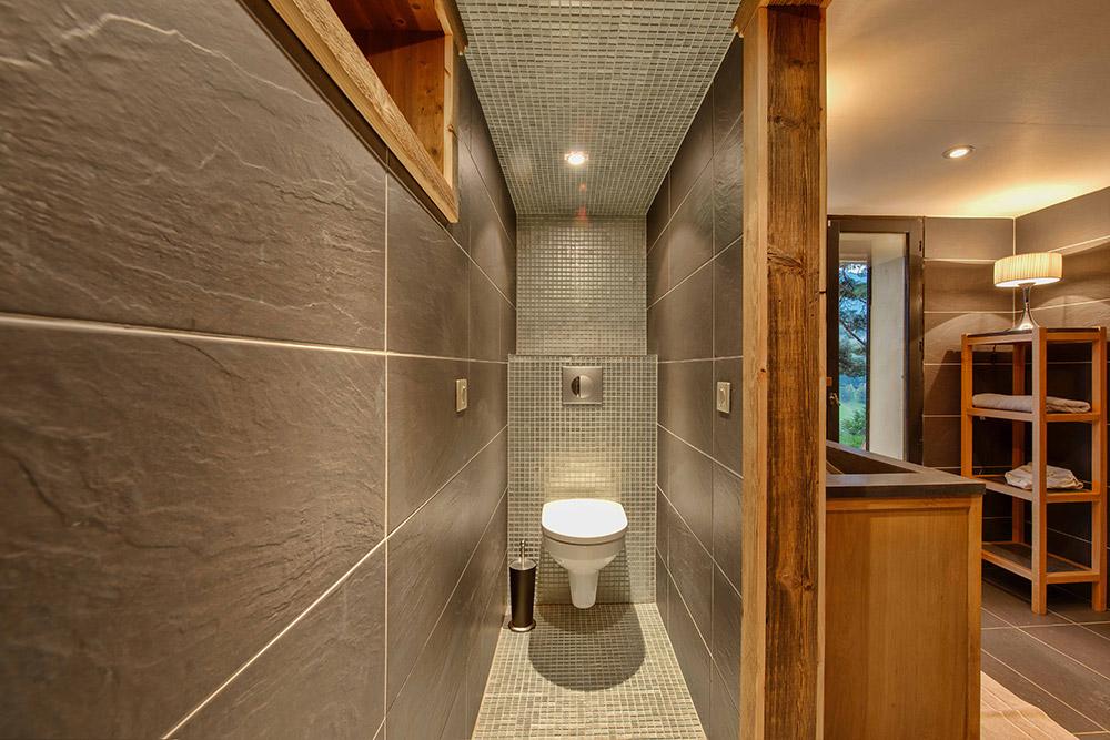 univers décoration salle de bain chalet