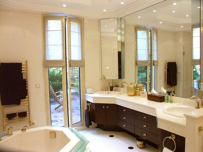 D coration salle de bain luxe - Photo de salle de bain de luxe ...