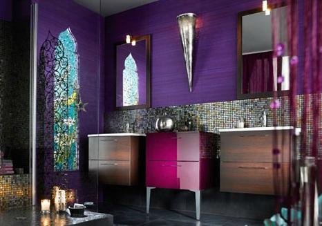 d coration salle de bain orientale. Black Bedroom Furniture Sets. Home Design Ideas