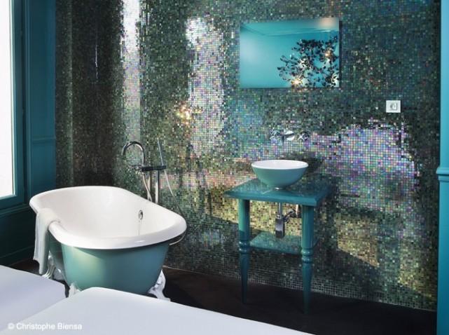 décoration salle de bain originale
