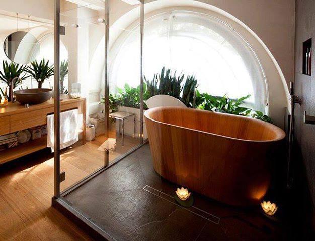 D coration salle de bain originale for Decor de salle de bain exotique