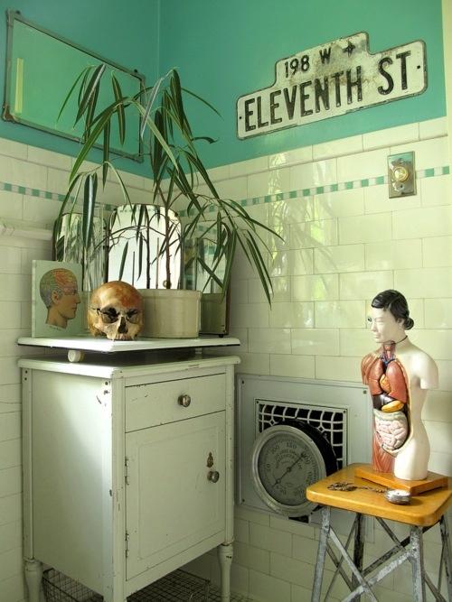 Photo décoration salle de bain originale