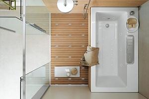 organisation décoration salle de bain petite surface - Photo Déco