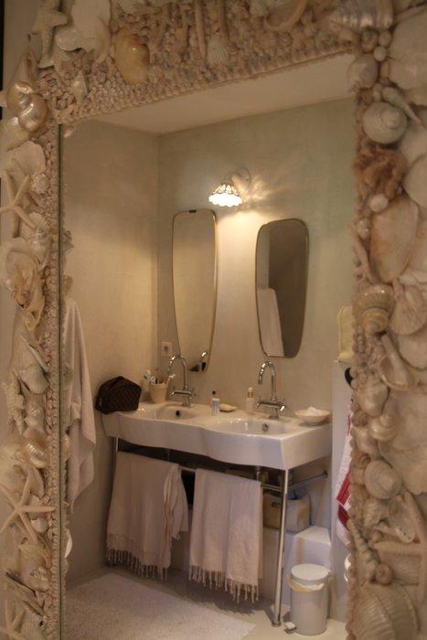 idée décoration salle de bain rustique - Photo Déco