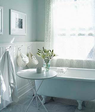 d coration salle de bain shabby chic. Black Bedroom Furniture Sets. Home Design Ideas