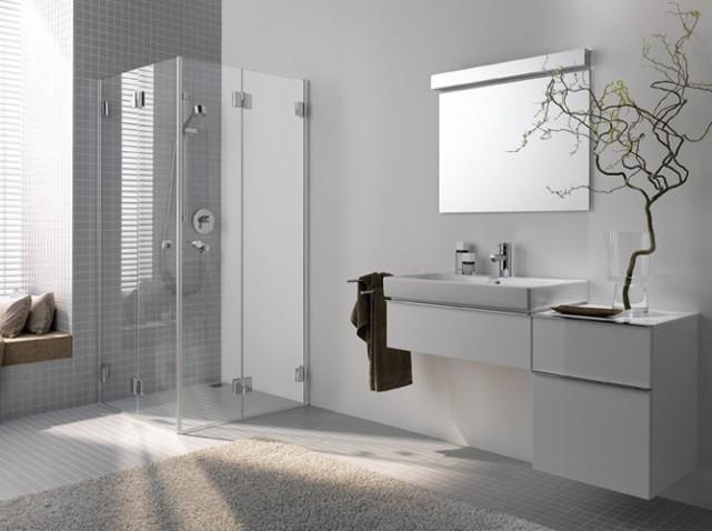 belle décoration salle de bain simple