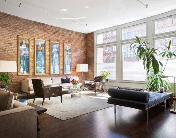 D coration style loft new yorkais - Deco loft new yorkais ...
