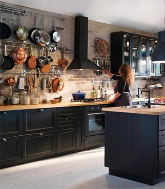 Cuisine ikea noir mat - Ikea cuisine noire ...