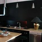 cuisine ikea noir mat