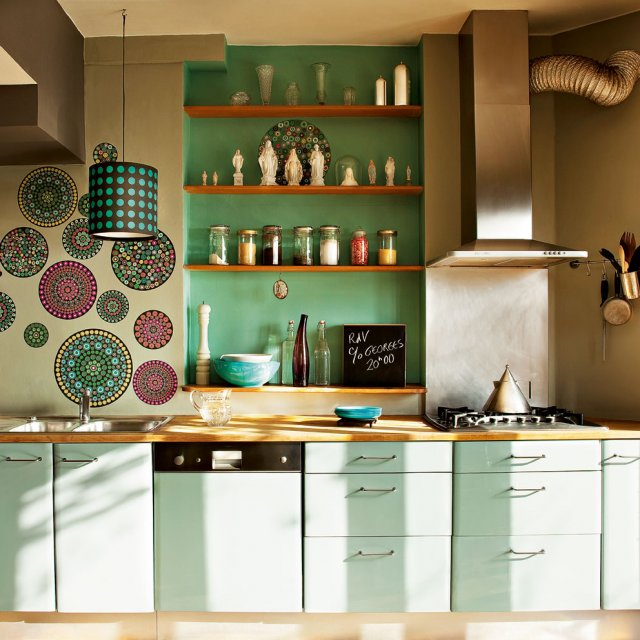 cuisine ikea vert celadon. Black Bedroom Furniture Sets. Home Design Ideas