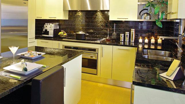 Jolie Cuisine Jaune Noir - Cuisine noir et jaune