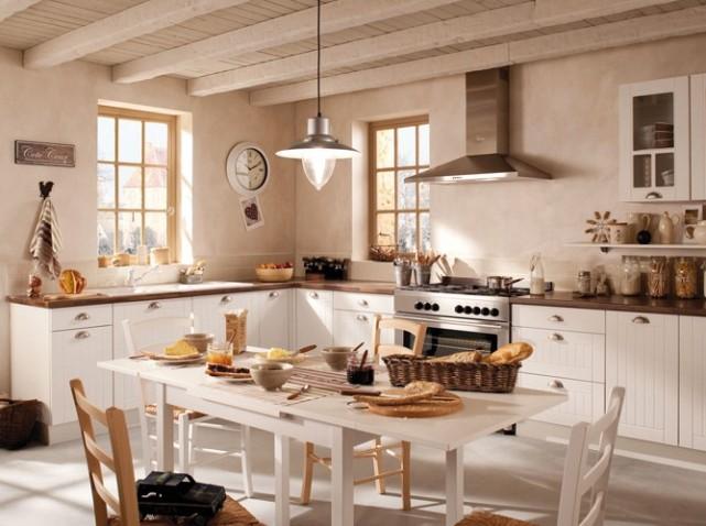 modèle cuisine rouge ancienne