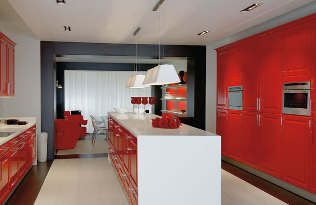 Photo Decoration Cuisine Rouge Et Noir 9 Jpg Pictures to pin on