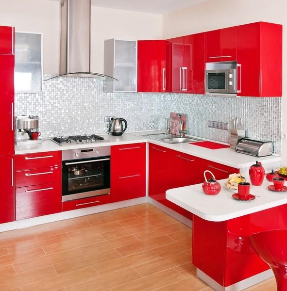 Cuisine Rouge Et Blanc – Palzon.Com