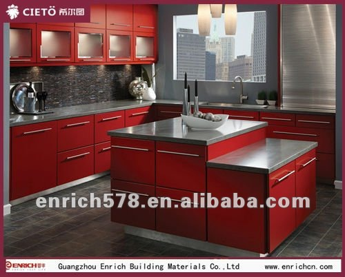 cuisine rouge ferrari. Black Bedroom Furniture Sets. Home Design Ideas