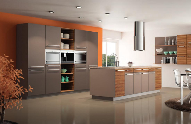 cuisine rouge haut de gamme. Black Bedroom Furniture Sets. Home Design Ideas
