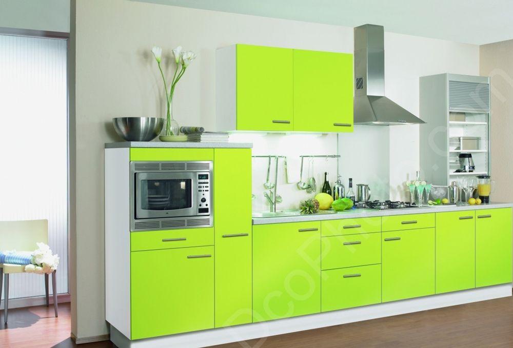 Cuisine vert anis et gris id es de for Cuisine gris vert