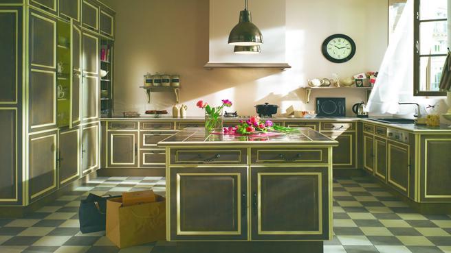 cuisine verte but. Black Bedroom Furniture Sets. Home Design Ideas
