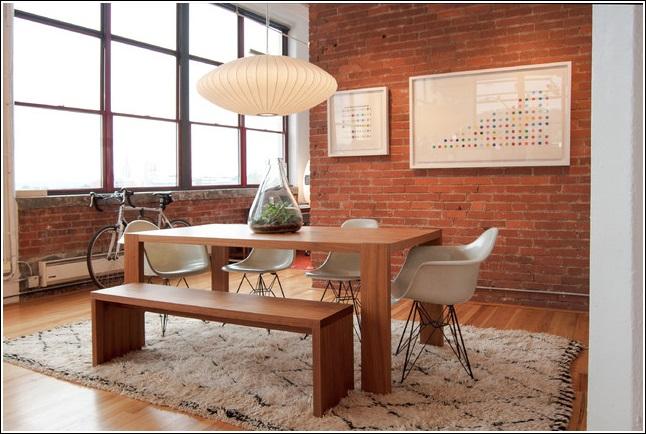 Photo appartement et brique : Déco Photo Deco
