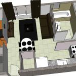 déco appartement en 3d
