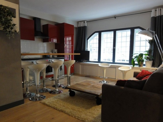 D co appartement en bois for Deco appartement en l