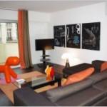 déco appartement orange