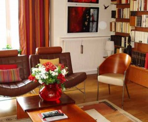 déco appartement orange
