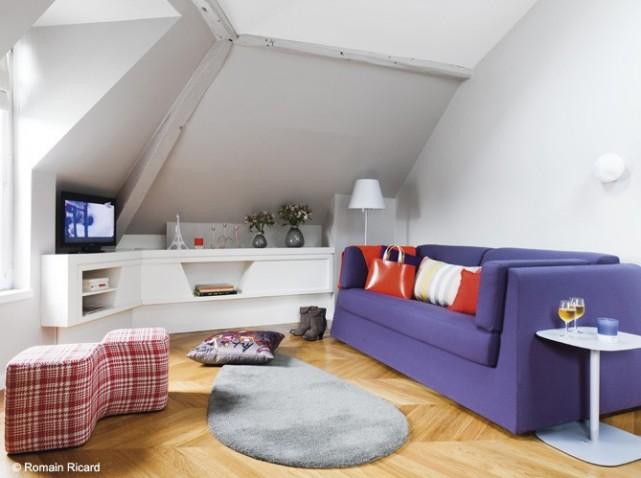 d co appartement sous comble. Black Bedroom Furniture Sets. Home Design Ideas