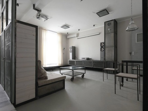 d co appartement style industriel. Black Bedroom Furniture Sets. Home Design Ideas