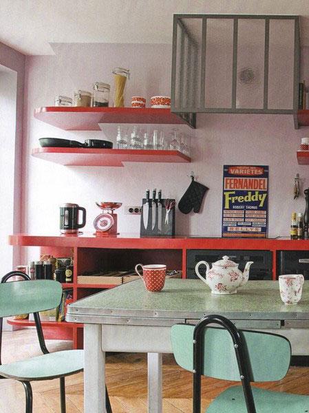 D co cuisine ann es 50 for Organisation cuisine