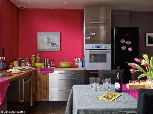 D co cuisine mur for Exemple deco cuisine