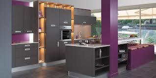 D co cuisine violet gris - Deco cuisine violet ...