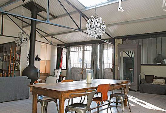 D co maison industrielle - Idee deco industrielle ...