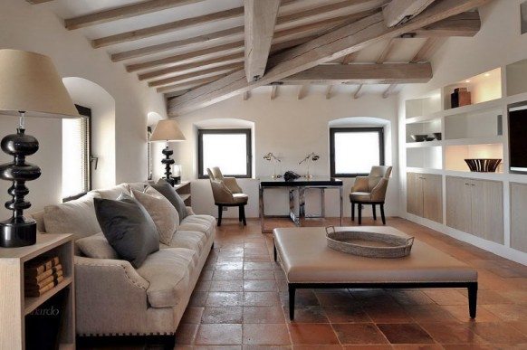 d coration maison italienne. Black Bedroom Furniture Sets. Home Design Ideas