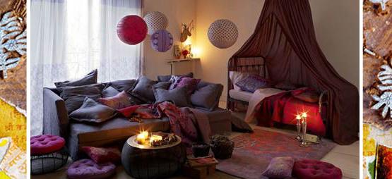 D co maison la redoute for Decoration maison boheme