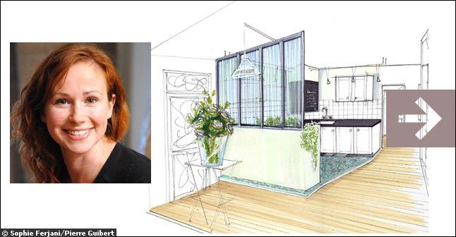 D co maison m6 for Decoratrice d interieur sophie ferjani