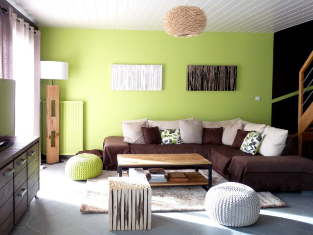 Stunning Decoration Salon Vert Pistache Images - ansomone.us ...