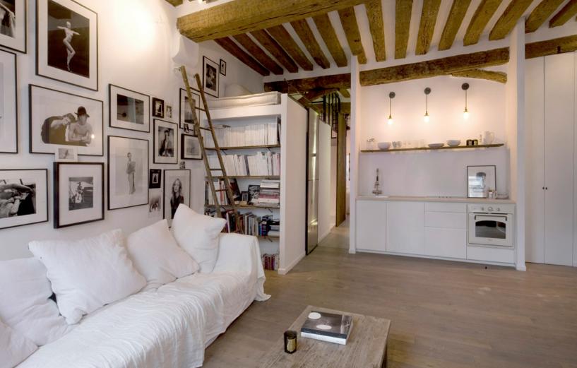 D coration appartement avec poutres for Deco appartement poutre apparente