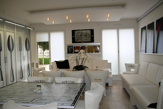 décoration appartement blanc