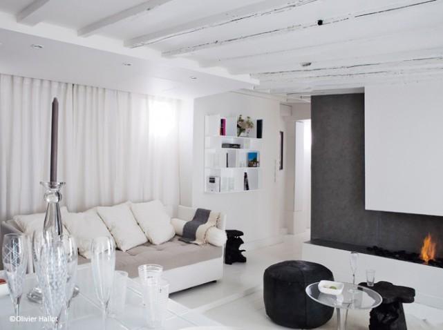 D coration appartement en blanc for Appartement design blanc